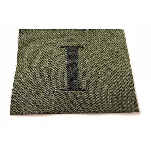 RGR-'I' Badge  - Black on Olive - Worn on Jungle Hat 60mm x 80mm [product_type] Ammo & Company - Military Direct