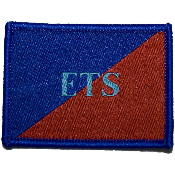 TRF - AGC - ETS - Blue on Red/Blue - 53 x 40mm [product_type] Ammo & Company - Military Direct