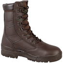 Brown Full Leather Patrol Boots in Sizes 6 to 13 | Cadet Kit Shop | Combat Boots