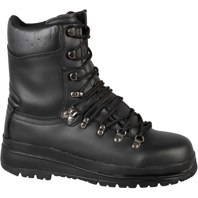 Highlander Forces Black Waterproof Leather Elite Boot