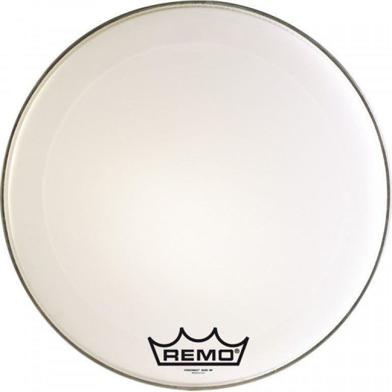 Remo 28 inch Powermax Ultra White Marching Bass Drum Head