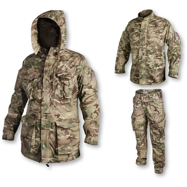 BUNDLE: Cadet PCS Green Kit Complete Uniform Smock + Shirt + Trousers
