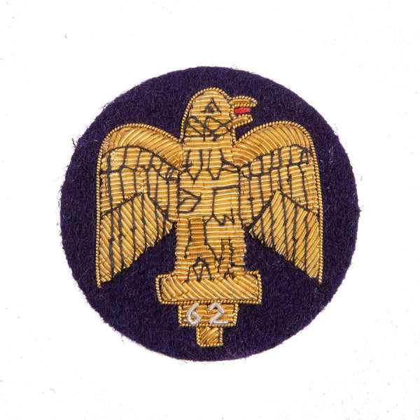 Royal Anglian Salamanca Eagle Arm Badge Bullion Wire.