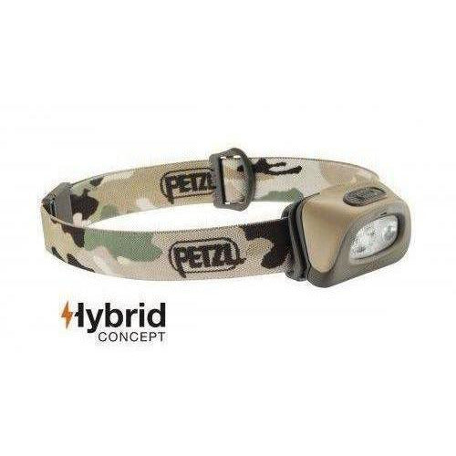 Petzl Tactikka Head Lamp Plus, 350 lumens, Camo