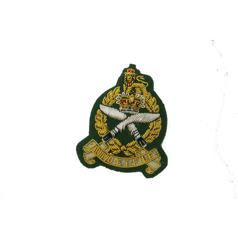 GSPS- Officers' Beret Badge  - Green Ground