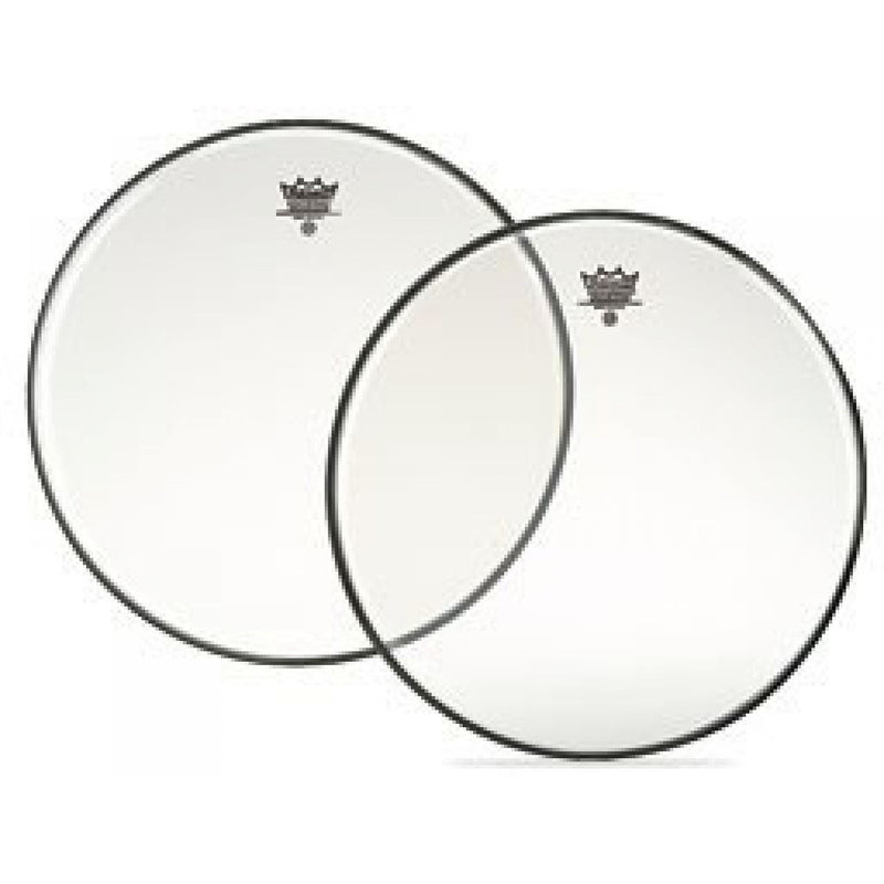 Remo 16 inch Ambassador Clear Tenor  Drum Skin Head (Bottom)