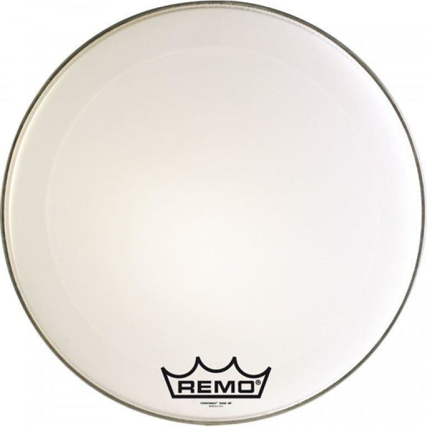 Remo 16 inch Powermax Ultra White Marching Tenor Drum Head by Remo (Batter/Top)