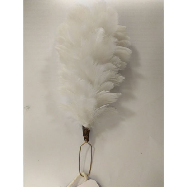 Hackle , Royal Welsh , White  6""