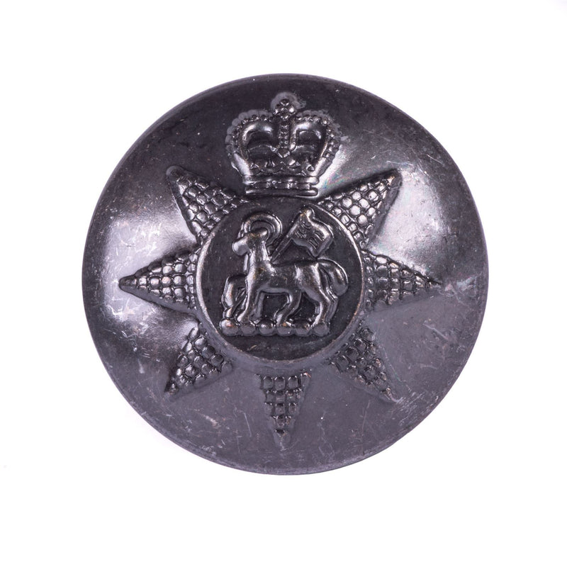 PWRR- Tunic Button (Queen's Regiment Pattern) - Bronze AAL - 40L
