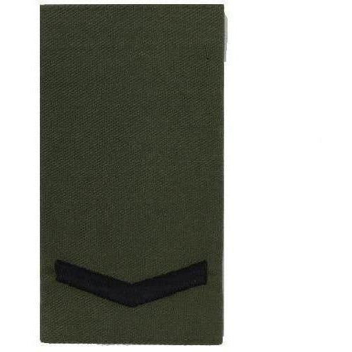 Royal Marines Olive Rank Slide-Embroidered Badges-Ammo & Company-WO2-Cadet Kit Shop