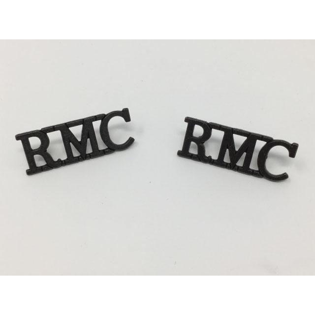 RMC Metal Shoulder Title-VCC-Ammo & Company-Bronze-Cadet Kit Shop