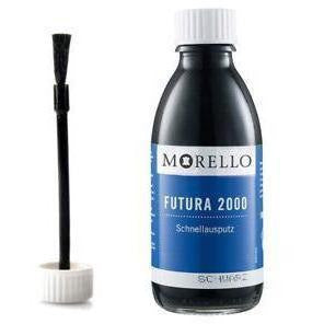 Morello Futura 2000 Black Boot Paint - 100ml