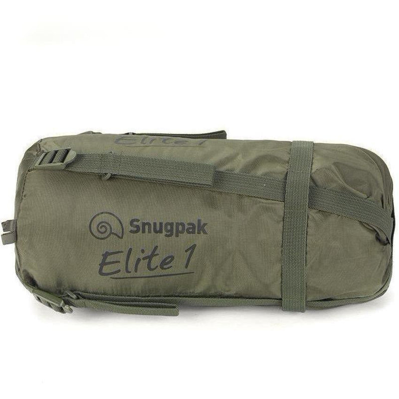 Snugpak Softie Elite 1 Sleeping Bag - Olive Green