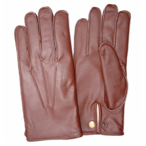 English Tan Leather Gloves