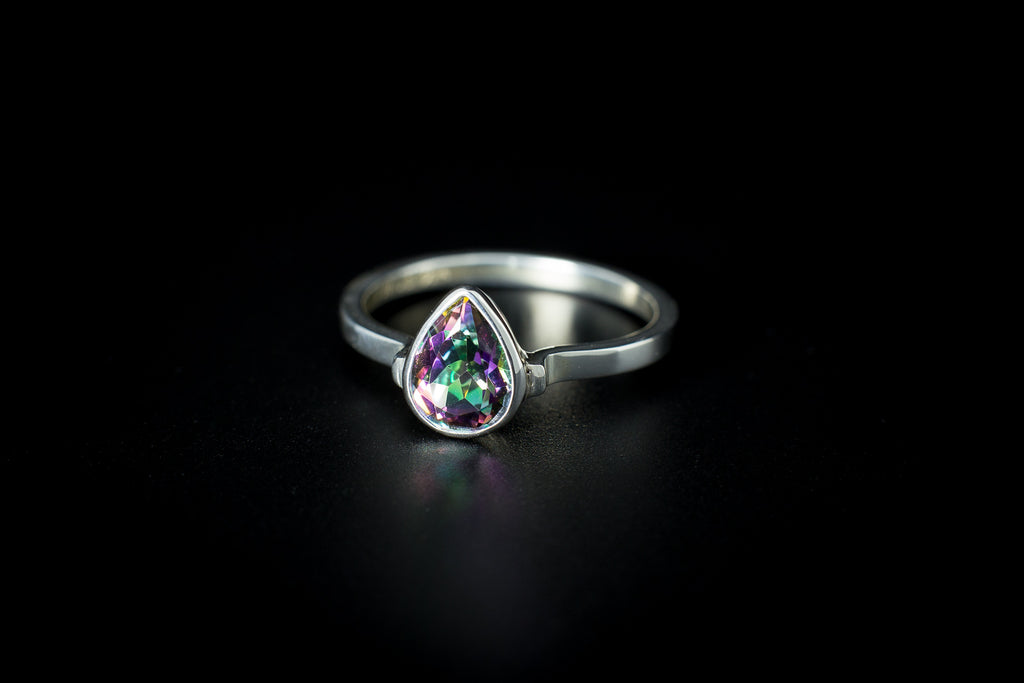 "The ""Teardrop Dreaming"" Ring COLLECTION"