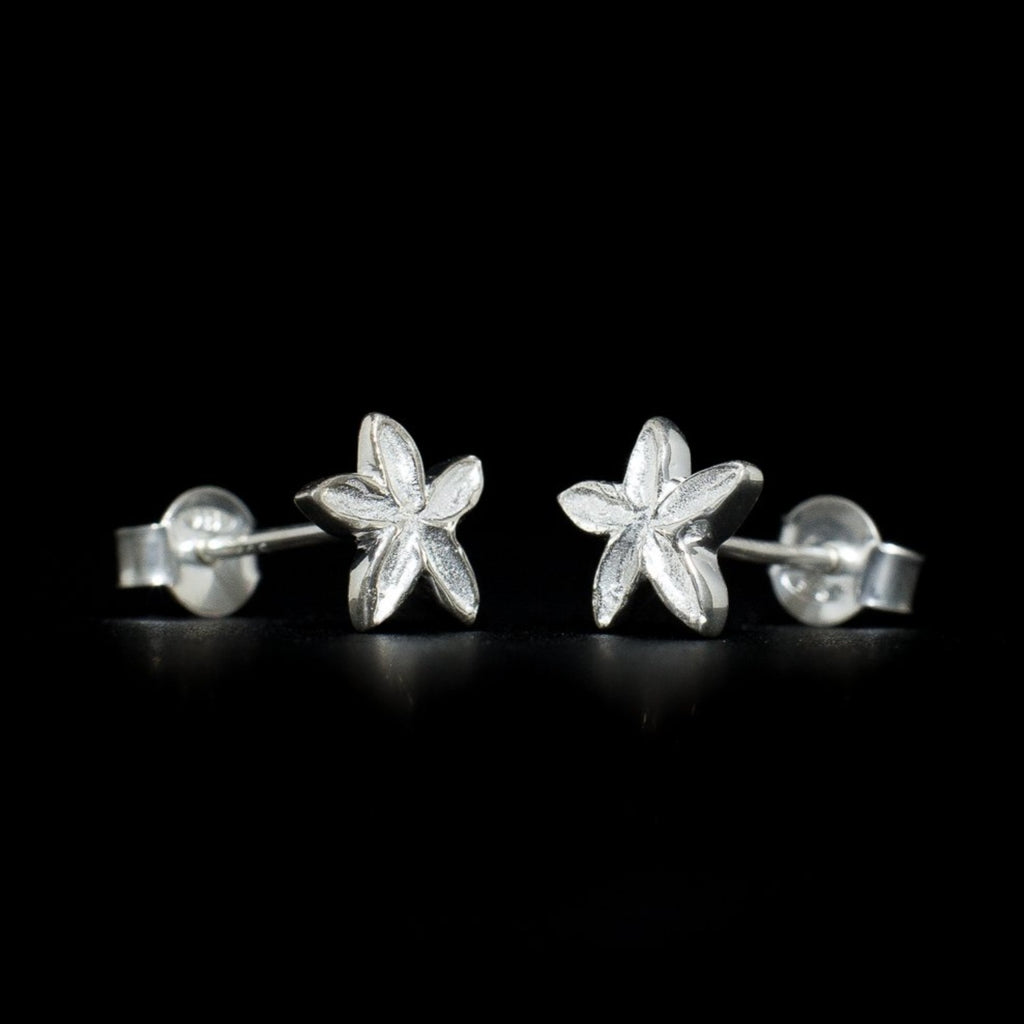 """Frangipani"" Stud Earrings"