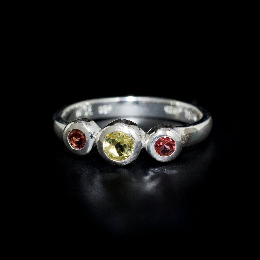"The ""Trilogy"" Ring Collection"