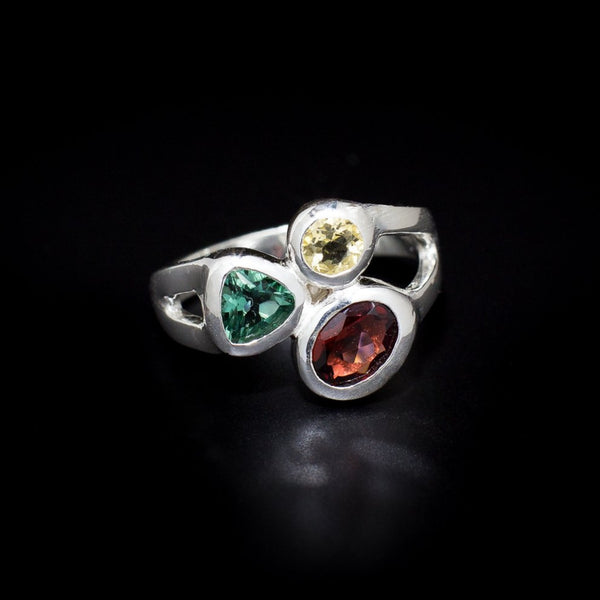 "The ""Tryptych"" Ring Collection"