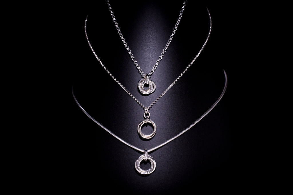 """Elegant"" Helix Necklace"