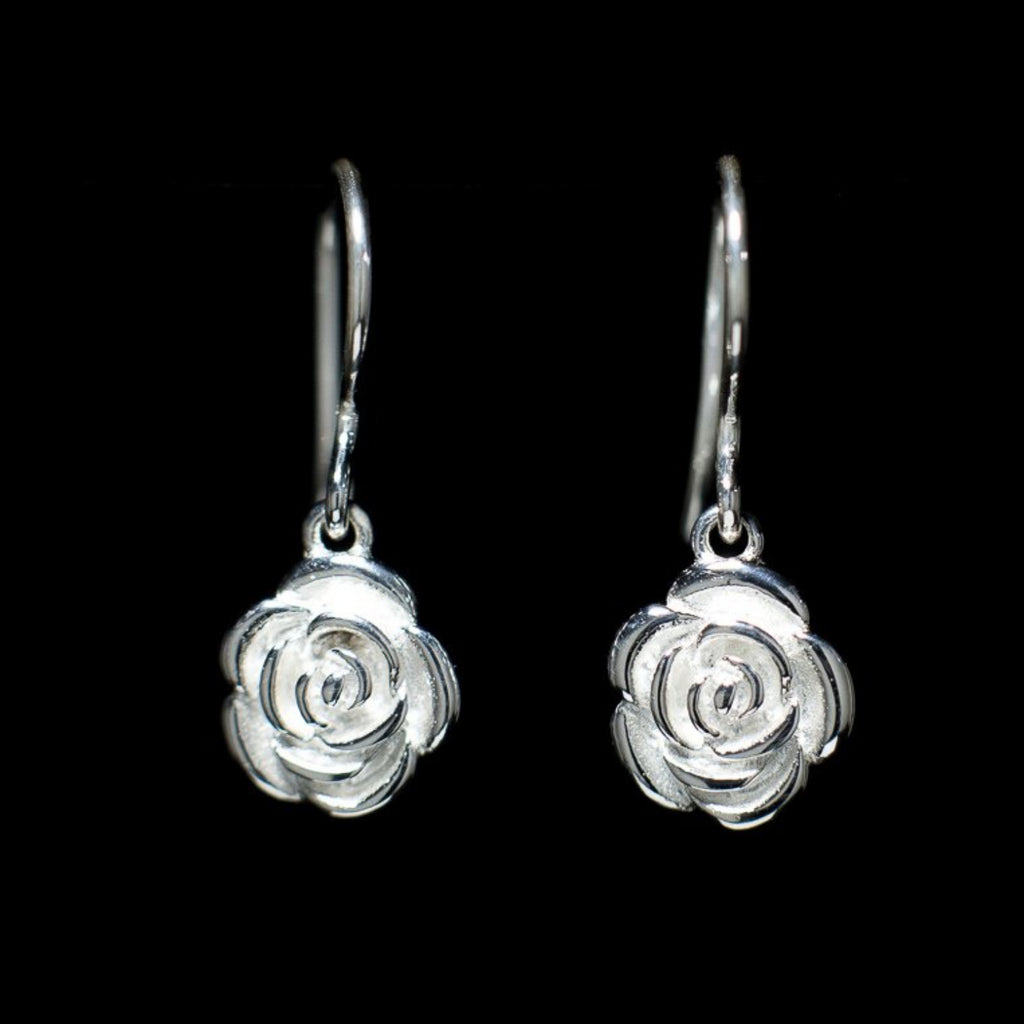 """Rose"" Earrings"