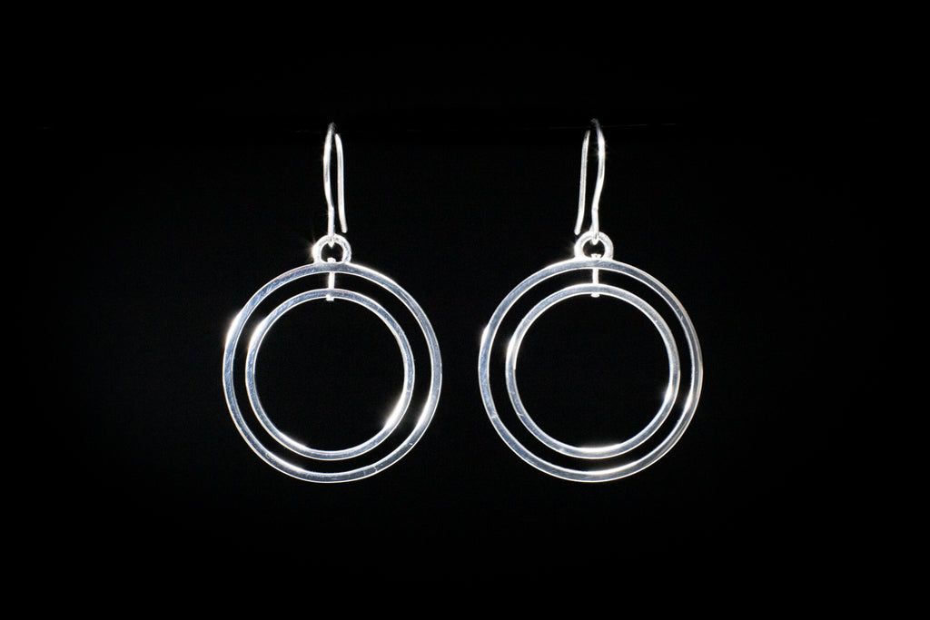 """Oasis"" Hoop Earrings"