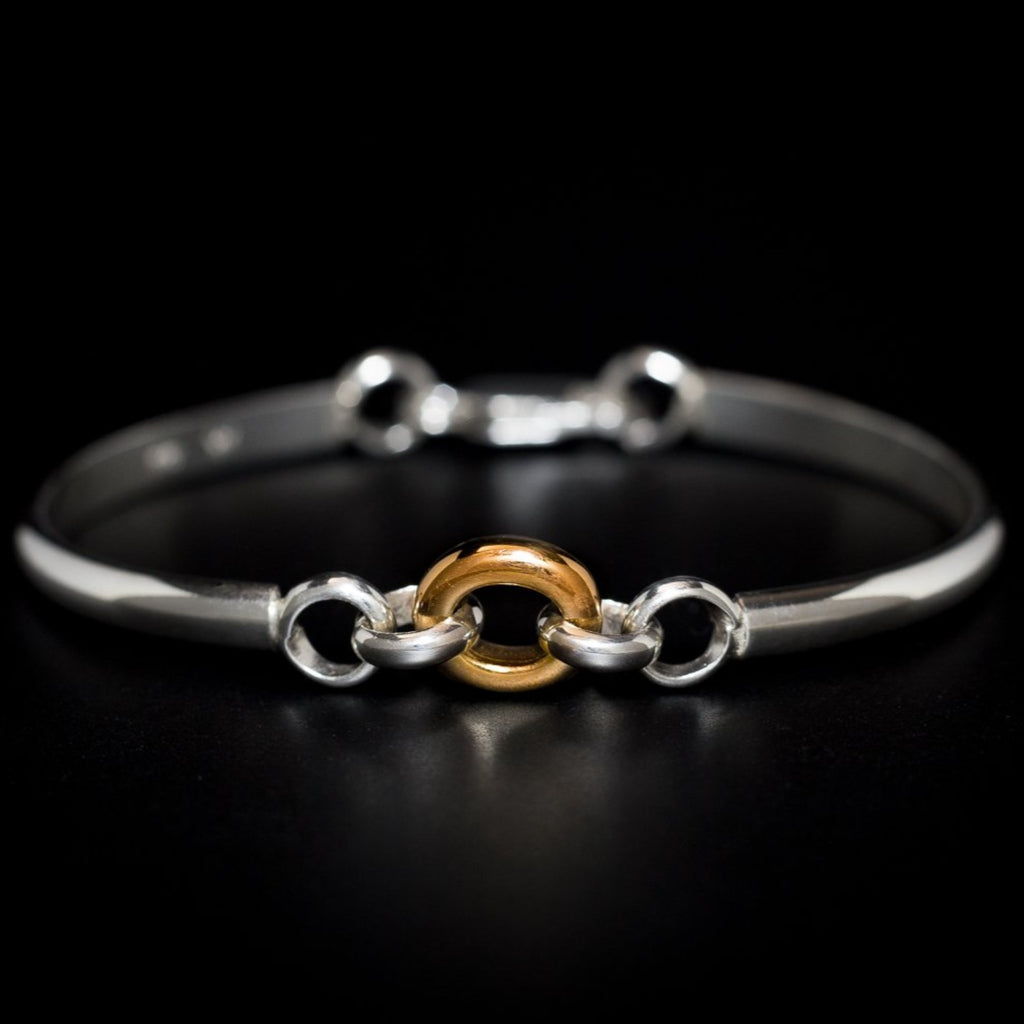 """Oracle"" Two-Tone Bracelet"