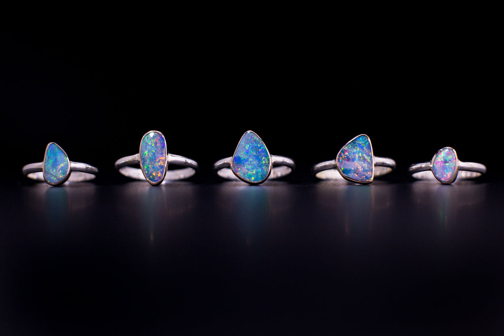 """The Outback"" Opal Ring #11"