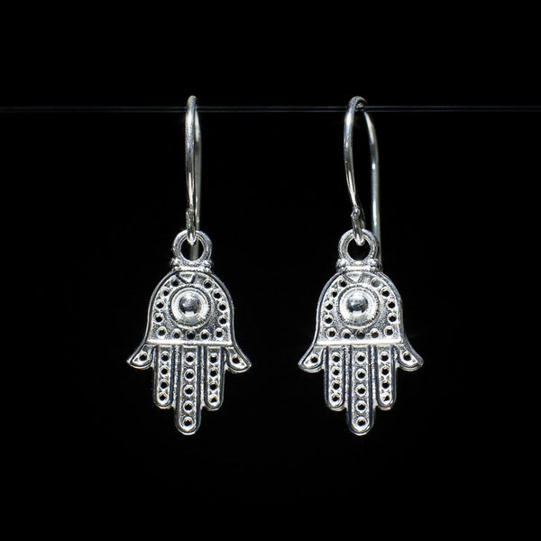 """Hamsa"" Earrings"