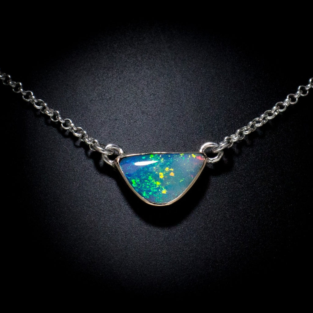 """Lightning Ridge"" Pendant Necklace"
