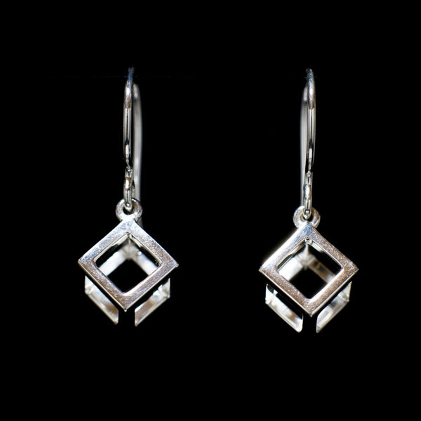 """Cube"" Earrings"