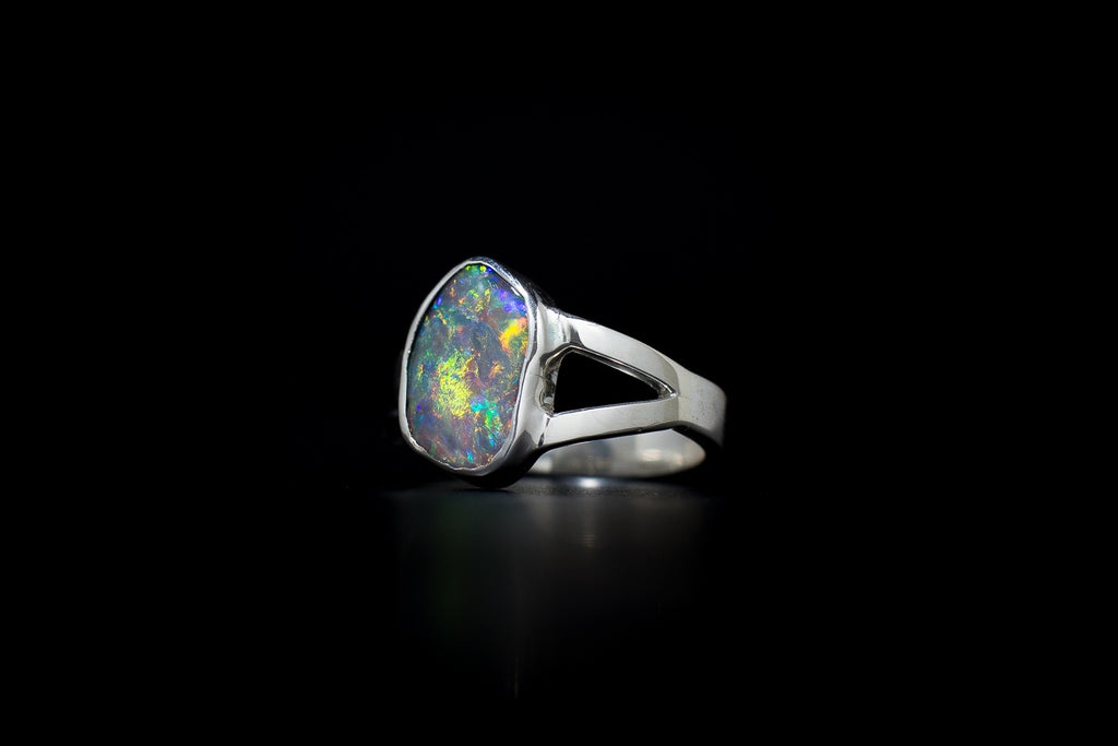 """Great Divide"" Opal Ring"