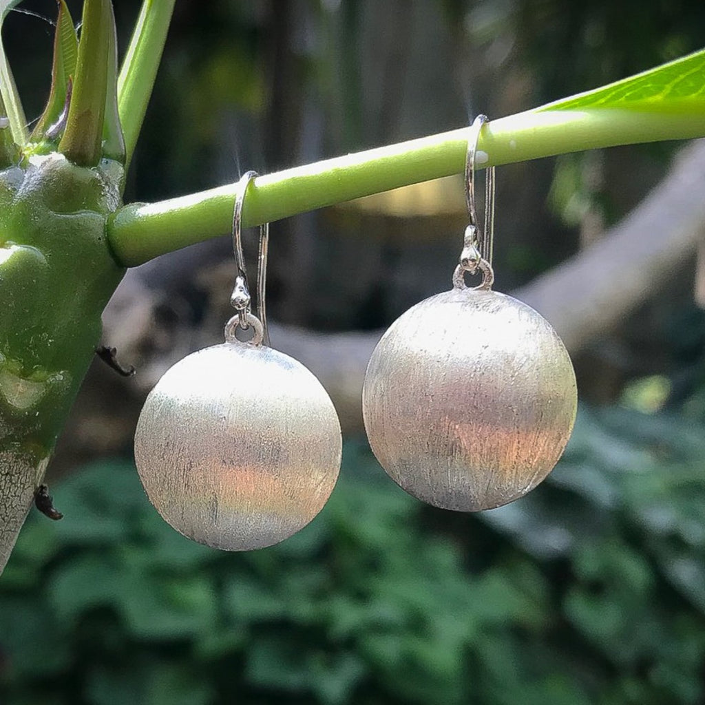 """Brushed Sands"" Earrings"