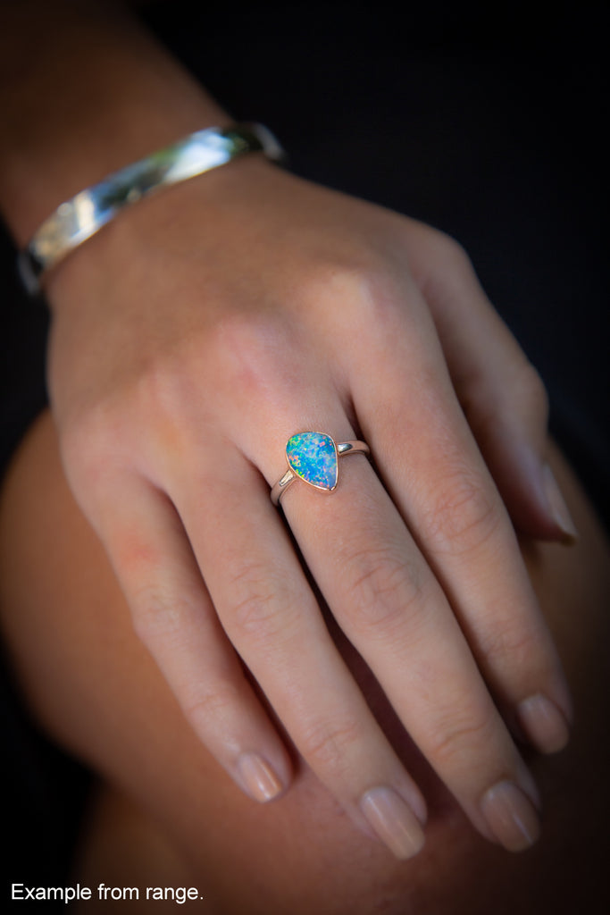 """The Outback"" Opal Ring #4"
