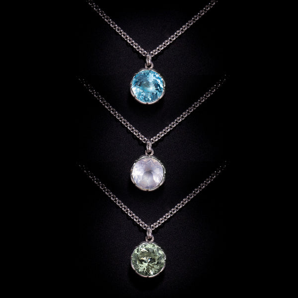 "The ""Tulip"" Pendant Necklace Collection"