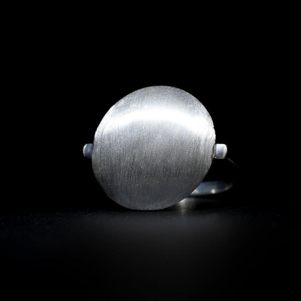 """Brushed Sands"" Ring"