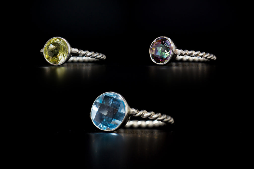 "The ""Tropicana Bold"" Ring Collection"