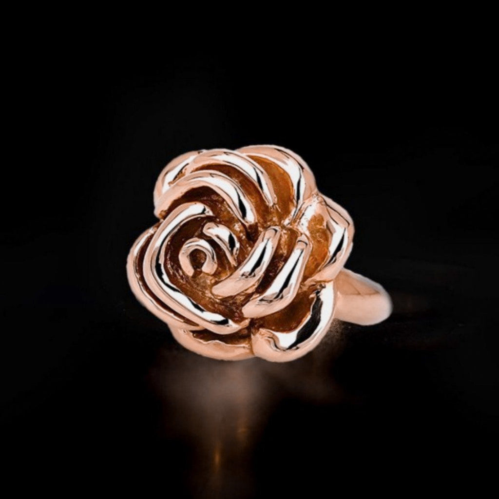 """Wild Rose"" 9ct Gold Ring"