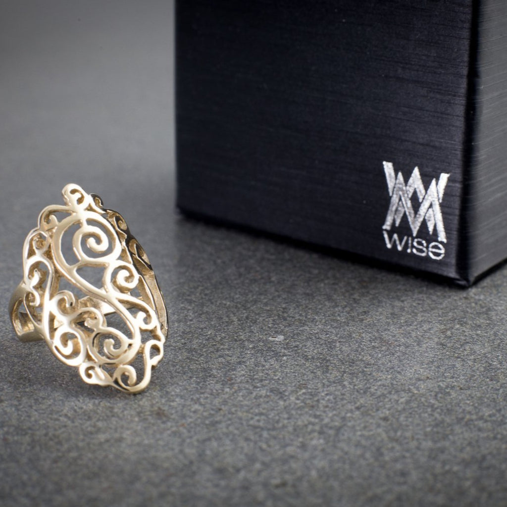 """Filigree"" Ring"