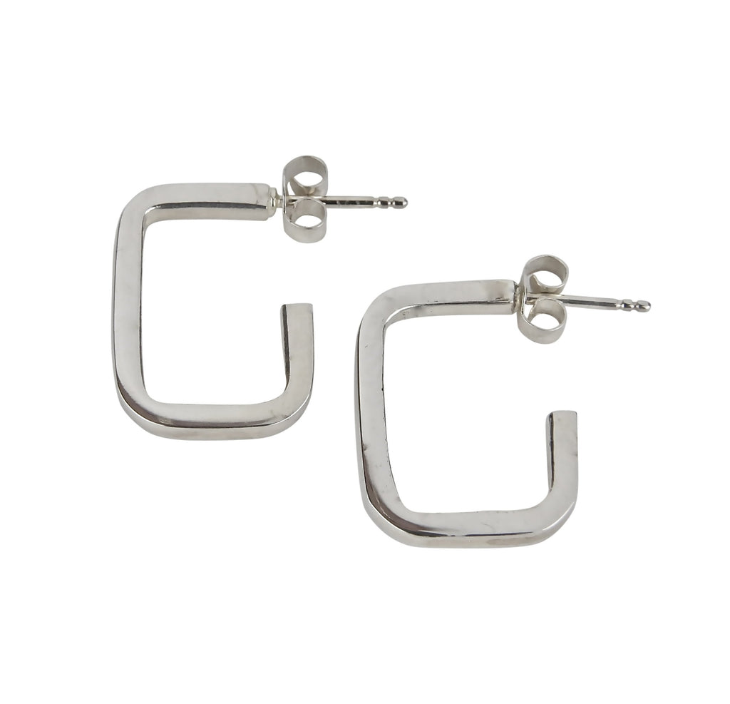 """G-Hoop"" Earrings"