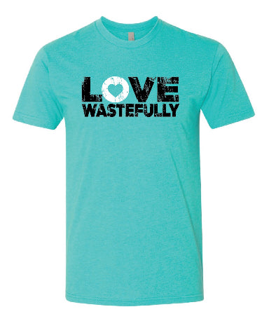 LOVE WASTEFULLY BOLD. - TAHITI BLUE