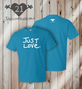 JUST LOVE - CARIBBEAN BLUE