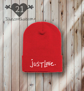 **NEW** JUST LOVE BEANIE - RED