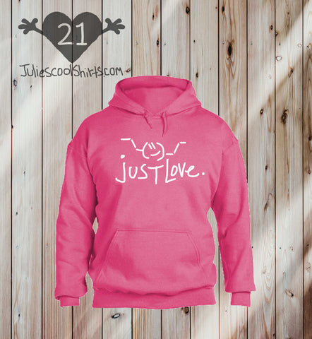 **NEW** SAFETY PINK EMOJI hoodie sweatshirt