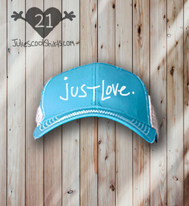 **NEW** JUST LOVE baseball cap