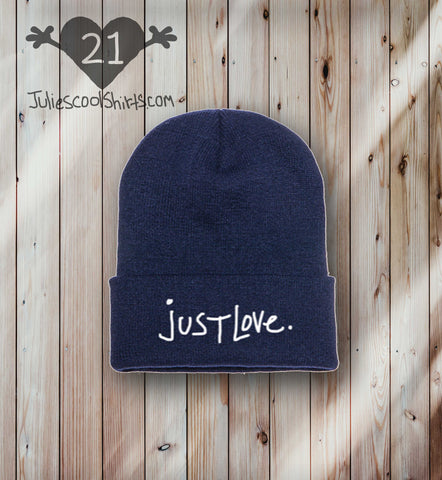 **NEW** JUST LOVE BEANIE - NAVY