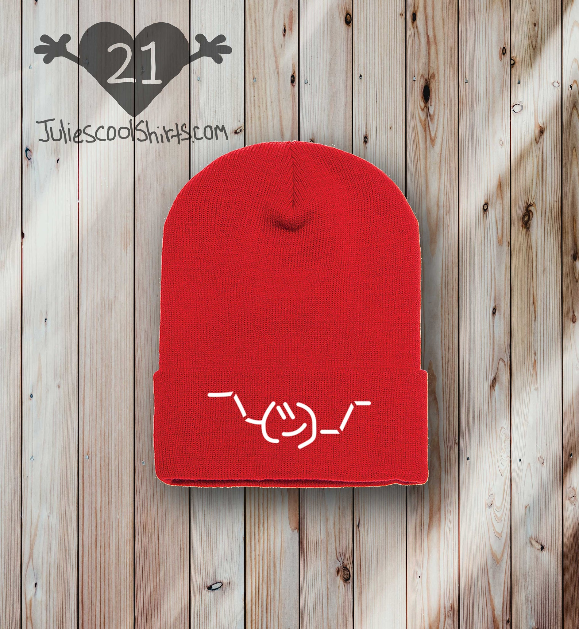 **NEW** EMOJI BEANIE - RED