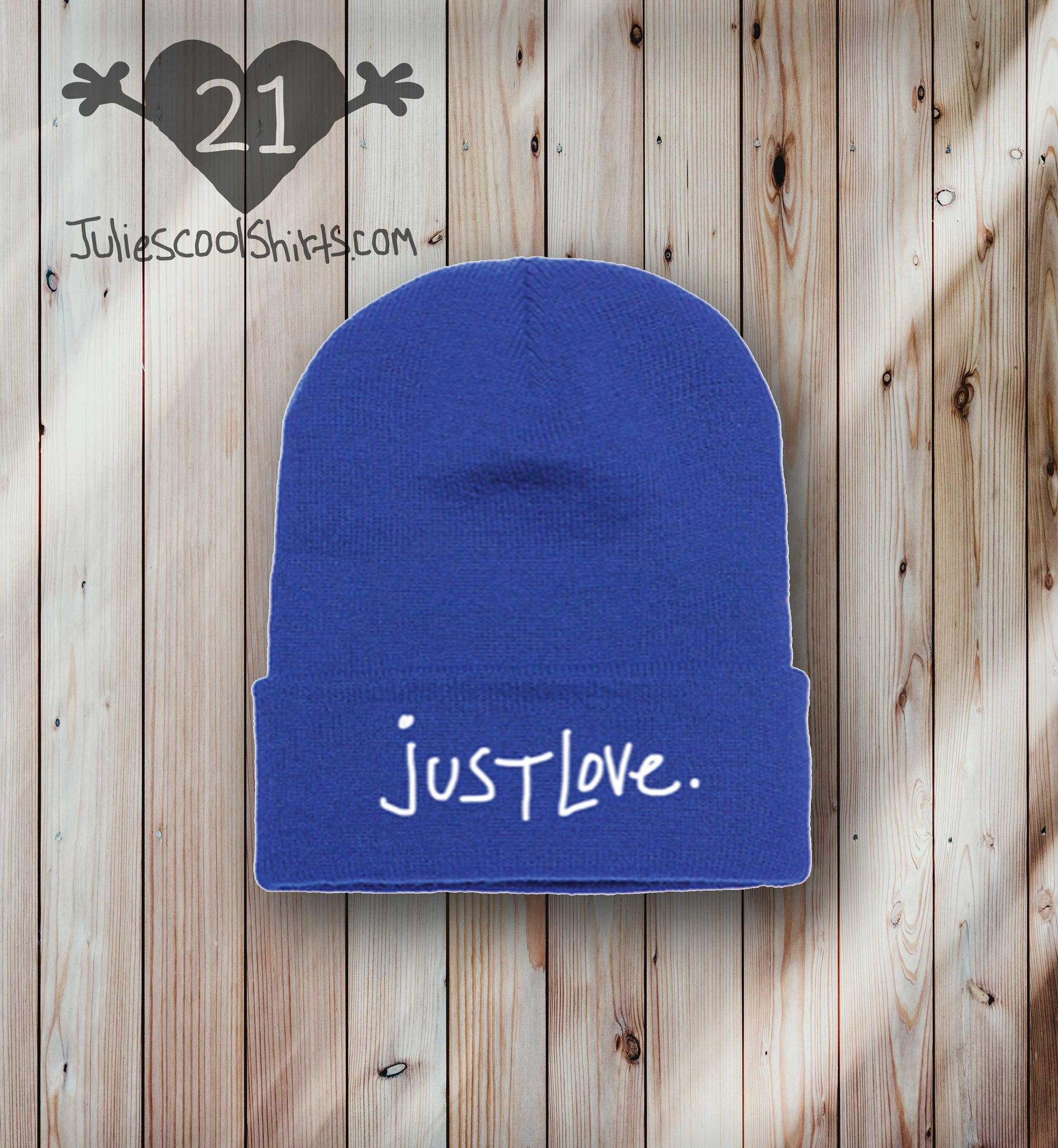 **NEW** JUST LOVE BEANIE - ROYAL