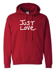 ANTIQUE CHERRY RED JUST LOVE hoodie sweatshirt
