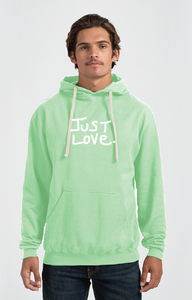 NEO-MINT JUST LOVE hoodie sweatshirt