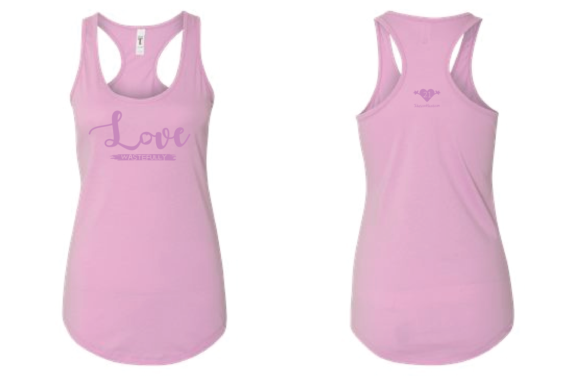 LOVE WASTEFULLY TANK - LILAC